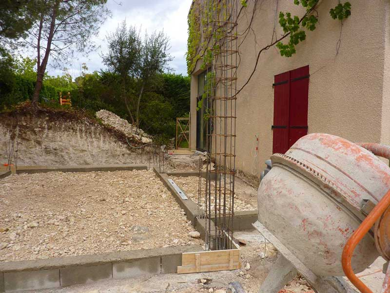 Construction-maison-placher-foundation