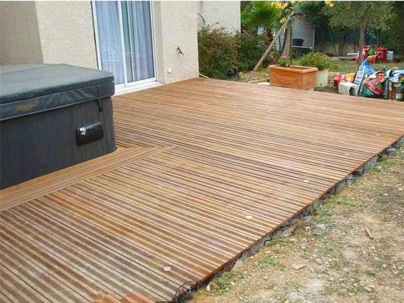 terrasse bois Montpellier